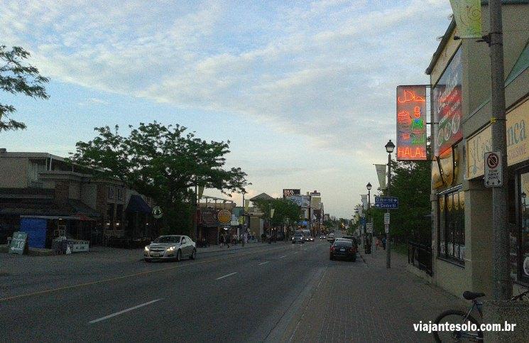Victoria Street Niagara Viajante Solo