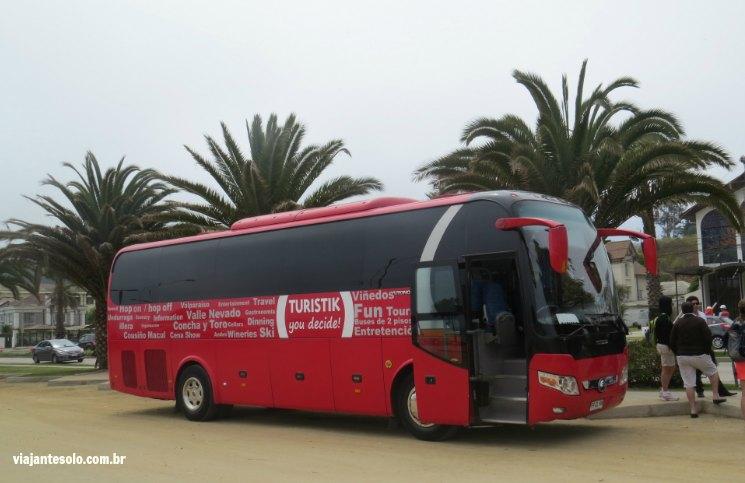 Vina del Mar Ônibus Turistik | Viajante Solo