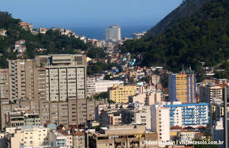 Vista da Estação 3 Botafogo | Viajante Solo
