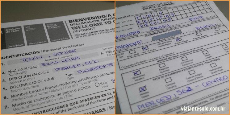 Voando com a LAN Documentos Imigração| Viajante Solo