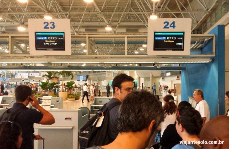 LAN Check in Galeão | Viajante Solo