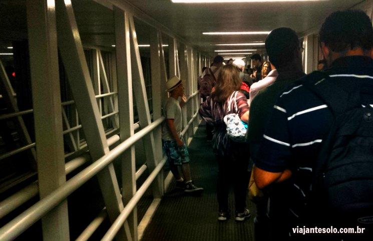 Espera no Embarque LAN | Viajante Solo